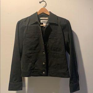 Jones Wear Sport Grey Jean Style Jacket